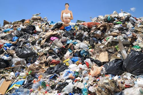 natural garbage dump birth gomerpedia