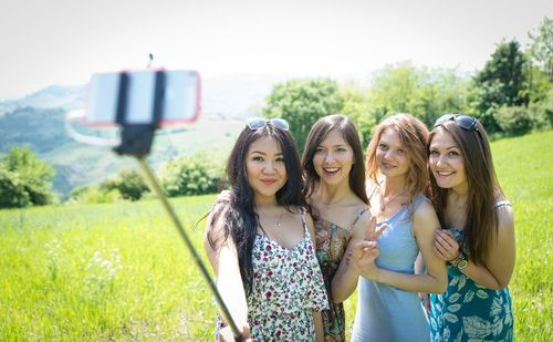 Group of Girls with a Selfie Stick.jpg